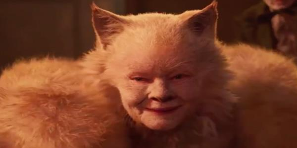 Watch the truly bizarre first trailer for the Cats movie