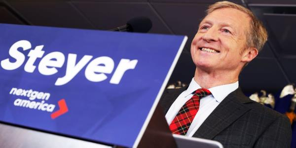 Tom Steyer Is Crushing the 2020 Field on Facebook