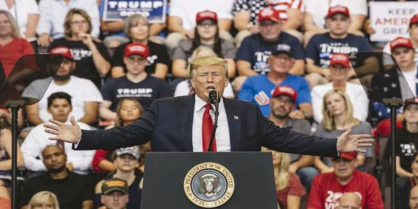 Trump Avoids 'Send Her Back' Chant, but Ups Attacks on Baltimore at Ohio Rally
