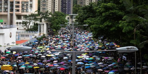 Police Fire Tear Gas to Protect China Office: Hong Kong Update