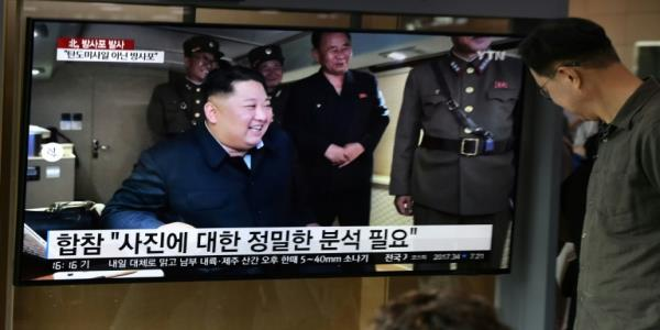 Kim sends missile warning to S.Korea, US as tensions rise