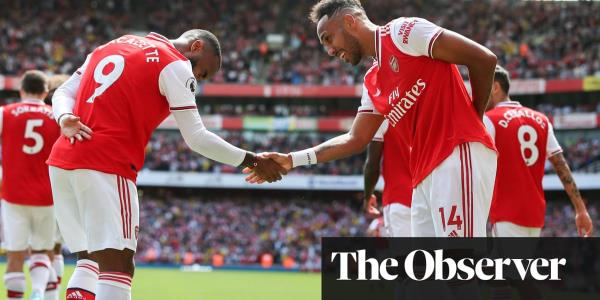 Lacazette and Aubameyang give Arsenal the edge over sturdy Burnley