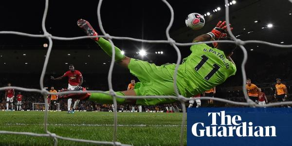 Manchester United held to draw at Wolves after Paul Pogba fails from spot