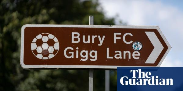 Bury on the brink of expulsion after fifth League One match is suspended