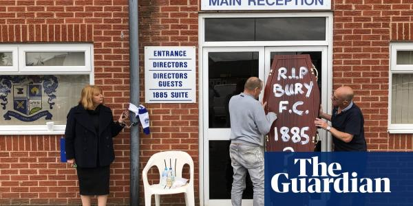 What is going on at Bury Football Club? – video report