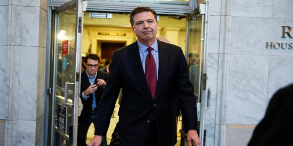 James Comey Wont Be Prosecuted For Leaking Trump Memos To Media