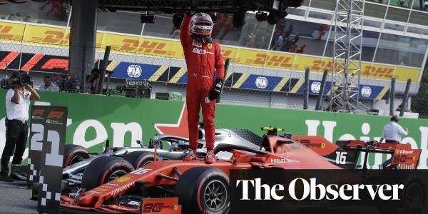 Charles Leclerc on Monza pole for Ferrari after Mercedes misjudgment