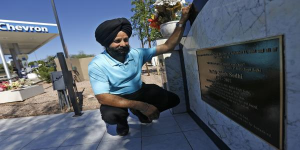 Correction: Sikh Killed-Anniversary story