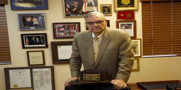 I plan on winning: At 87, Joe Arpaio is running for sheriff again