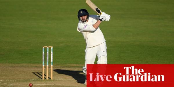 County cricket: Somerset face hard chase after James Vince century
