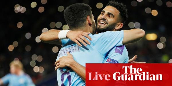 Shakhtar Donetsk 0-3 Manchester City: Champions League – live!