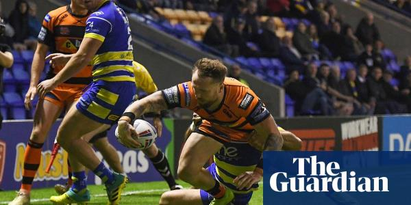 Castleford aim to 'spoil more parties' after play-off win over Warrington