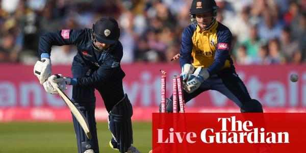 T20 Blast Finals Day: Derbyshire chasing 161 to beat Essex – live!