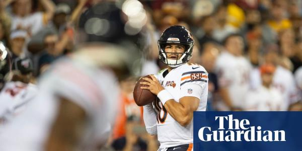 Trubisky snaps out of slump to lead Chicago Bears past Washington