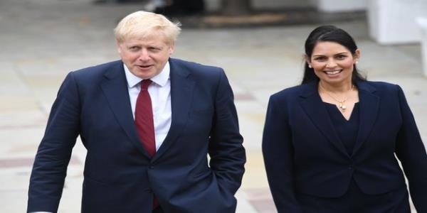 Priti Patel Says Jeremy Corbyn Will Surrender Borders And Make UK Less Safe