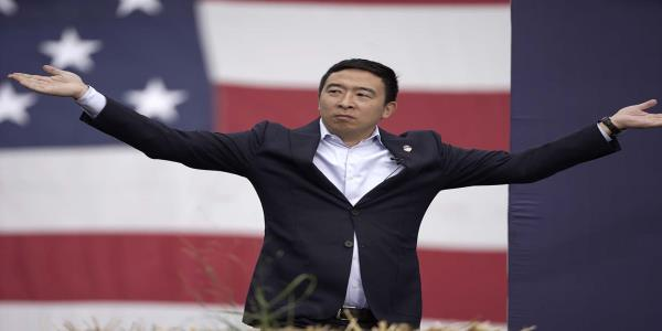 Andrew Yang puts other Dems to shame with big cash haul