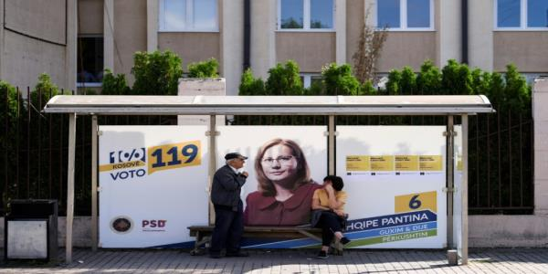 War wing fights for survival in Kosovo poll