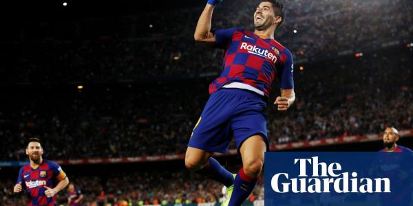 Luis Suárez and Lionel Messi on target as Barcelona demolish Sevilla
