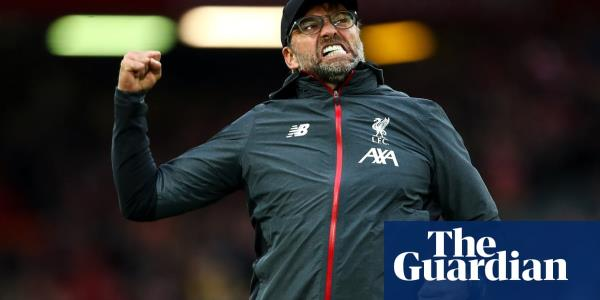 Holy grail could be in sight as Jürgen Klopp toasts his Anfield anniversary | Andy Hunter