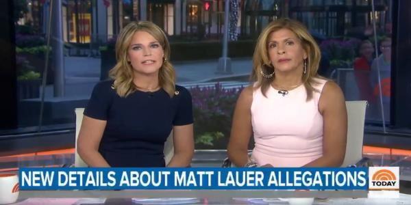 Savannah Guthrie: 'We Are Disturbed to Our Core' by Lauer Rape Allegations