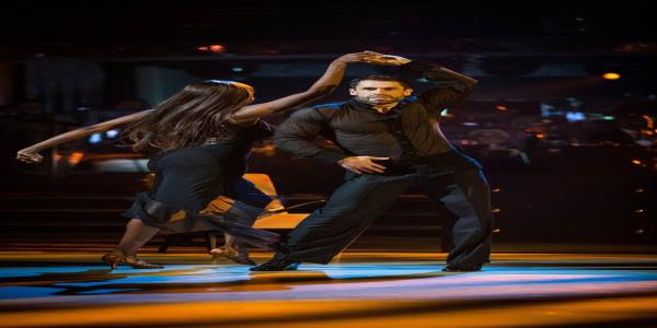 Kelvin Fletcher Heats Up The Strictly Dance Floor With A Filthy Rumba