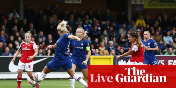 Chelsea v Arsenal: Womens Super League – live!