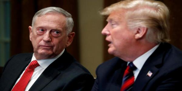 Mattis: Trumps troop pullout will lead to disarray in Syria and Isis resurgence