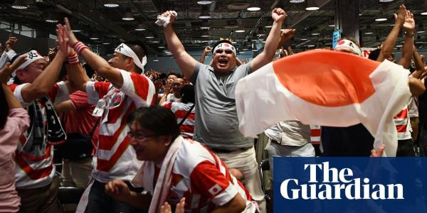 Japan marks shining moment at Rugby World Cup in wake of Typhoon Hagibis