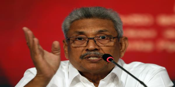 Sri Lanka presidential hopeful says wont honor deal with UN