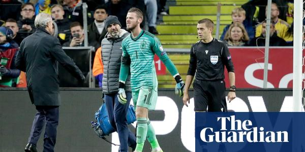 Euro 2020 roundup: Spain qualify but David de Gea limps off