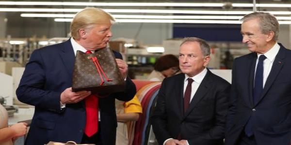 Louis Vuitton x Donald Trump: the big fashion collab no one asked for