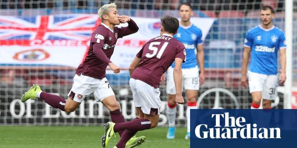 Rangers miss chance to return to top of Premiership table with draw at Hearts