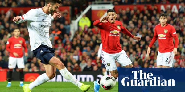 Liverpool drop first points but Lallana leveller denies Manchester United
