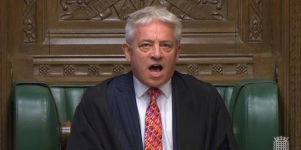 John Bercow Blocks Boris Johnson From Holding Brexit Deal Vote