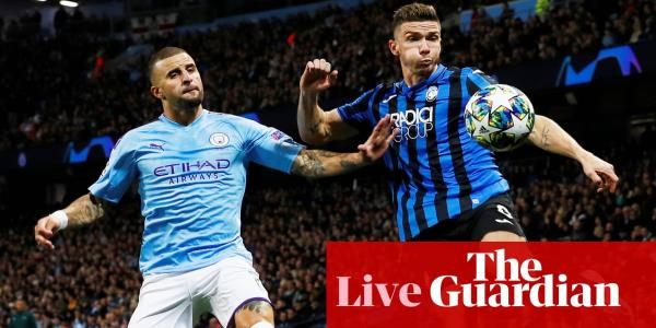 Manchester City v Atalanta: Champions League Group C – live!