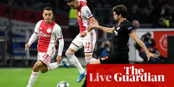 Ajax v Chelsea: Champions League Group H – live!