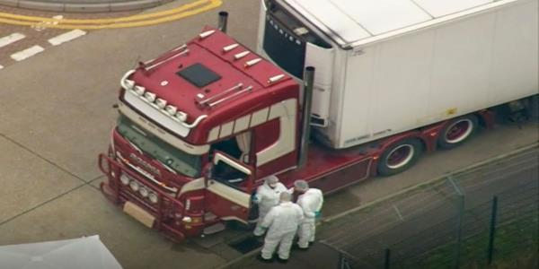Essex Lorry Deaths: Two Arrested On Suspicion Of Human Trafficking And Manslaughter