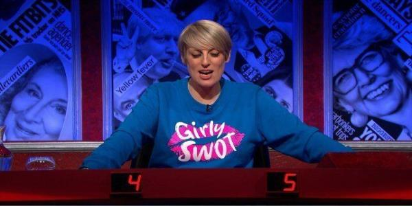 Steph McGovern Designed Her Own 'Girly Swot' Jumper For Have I Got News For You - And Now You Can Own One
