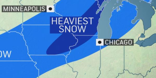 Halloween storm to dump 1st snow of season in parts of Midwest