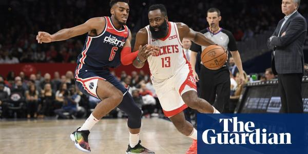 Harden grabs 59 as Rockets win third-highest scoring game in NBA history