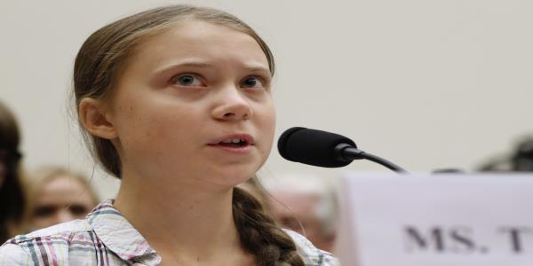 Greta Thunberg joins LA protest of oil drilling