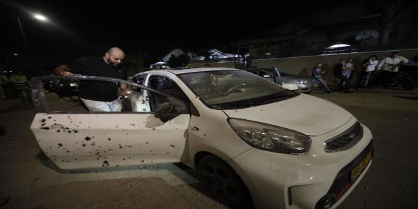 1 dead as Israel hits Gaza after rockets fired across border