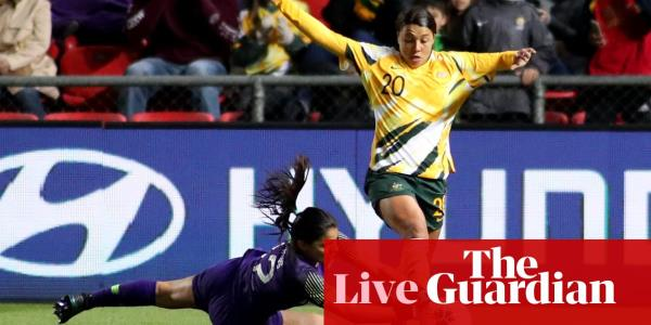 Matildas v Chile: international football friendly – live!