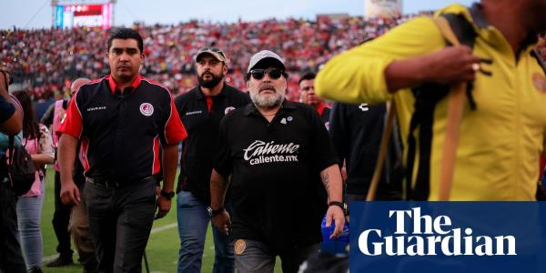 The real Diego Maradona comes to life in Mexico in captivating series | Ed Vulliamy