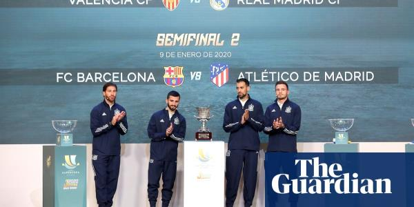 Spanish state TV shuns Super Cup in Saudi Arabia over human rights fears