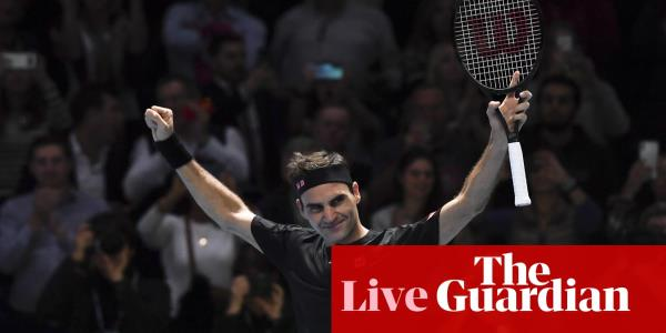 Roger Federer defeats Novak Djokovic: ATP Finals – as it happened