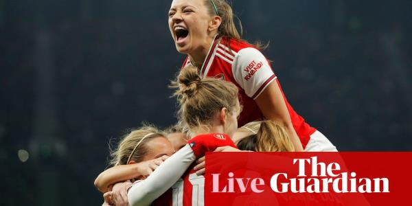 Tottenham 0-2 Arsenal: Womens Super League – live reaction!