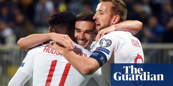 England's late flurry of goals puts gloss on win in first trip to Kosovo