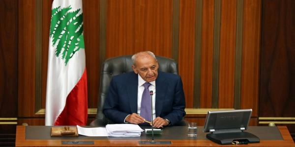 Lebanon resembles a sinking ship, parliament speaker says: paper