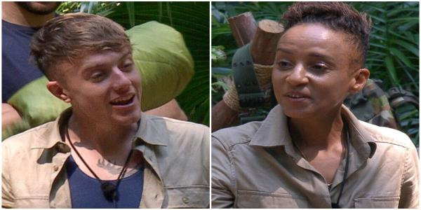 Im A Celebrity: Adele Roberts And Roman Kemp Clash Over Jane McDonald Photo